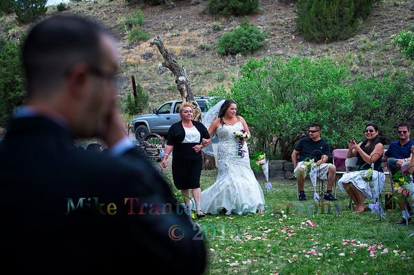 Brad and Shalaina Baca Wedding