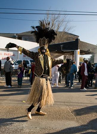 Krewe of Zulu Mardi Gras 2010