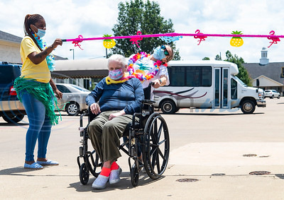 Hawaiian Luau at The Waterton Healthcare & Rehabilitation by Sarah A. Miller