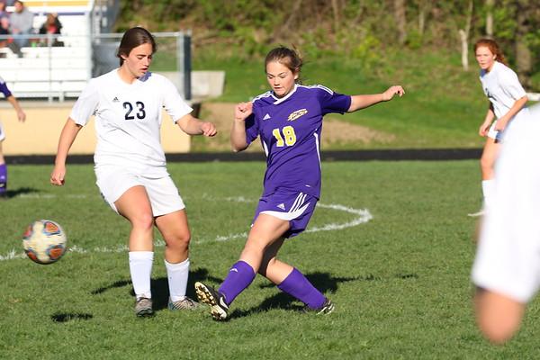 Soccer Girls JV vs Unity - KCHS 5/10/19