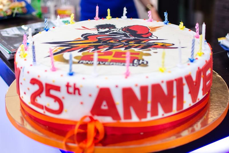 25th Anniversary of Street Fighter - a cake @ Gamescom 2012