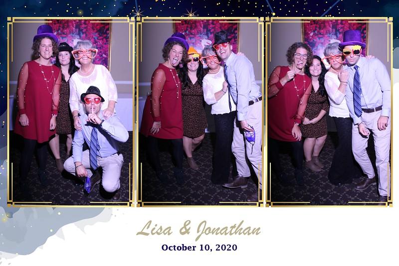 THE WEDDING OF LISA AND JONATHAN