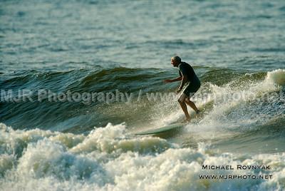Surfing, Gilgo Beach, NY,  08.12.12