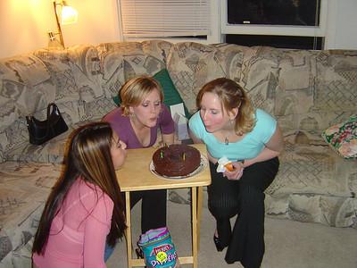 Kim, Kim, and Sarah's Birthday
