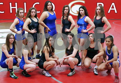 High School Female Wrestlers (1/29/2019) Durham, Chico, Orland