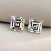1.47ctw Carre Cut Diamond Pair GIA F VS2 0
