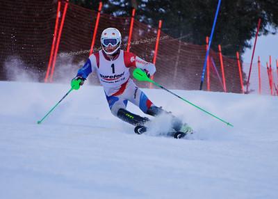 3-16-14 FIS Jr. Championships SL at Loveland - Run #1