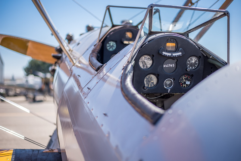 Stearman Cockpit