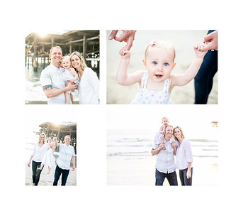 San Diego Family Photography in Pacific Beach at Crystal Pier. Farrell April 2019