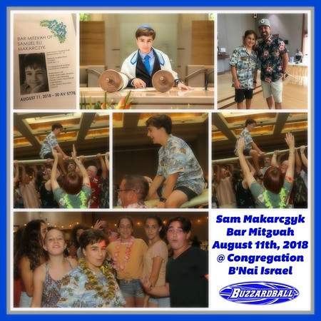Sam Makarczyk Bar Mitzvah | AUGUST 11TH, 2018