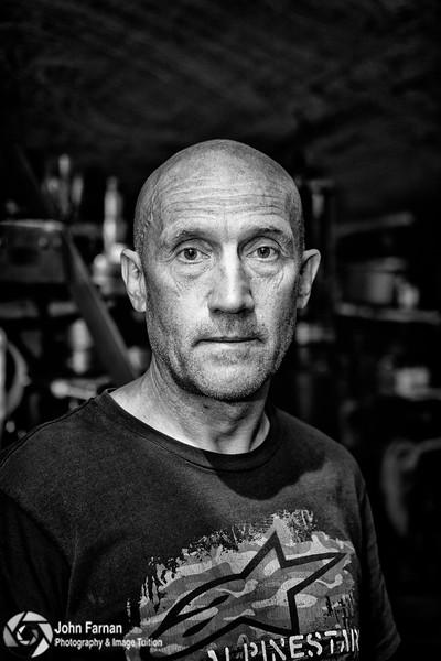 Alan Oversby Classic Motorbike racer