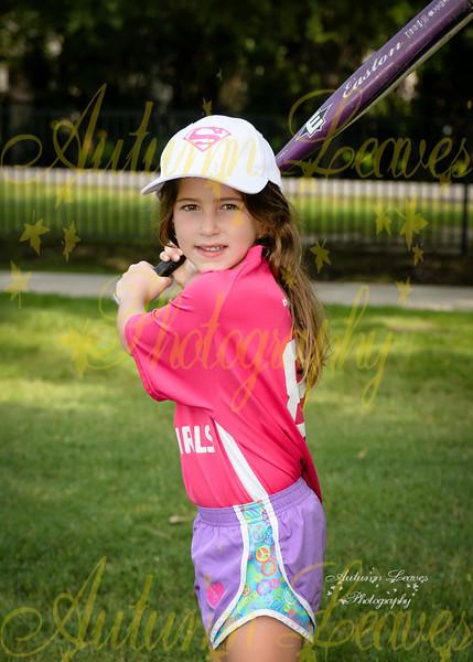 1G Lamplighter Supergirls - TNYMCA Softball Spring 2016