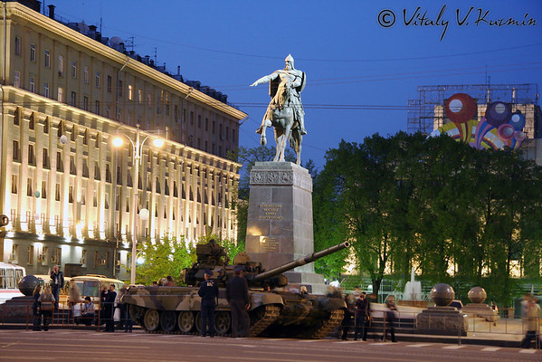 3rd May 2008 Victory Day Parade rehearsal in Moscow