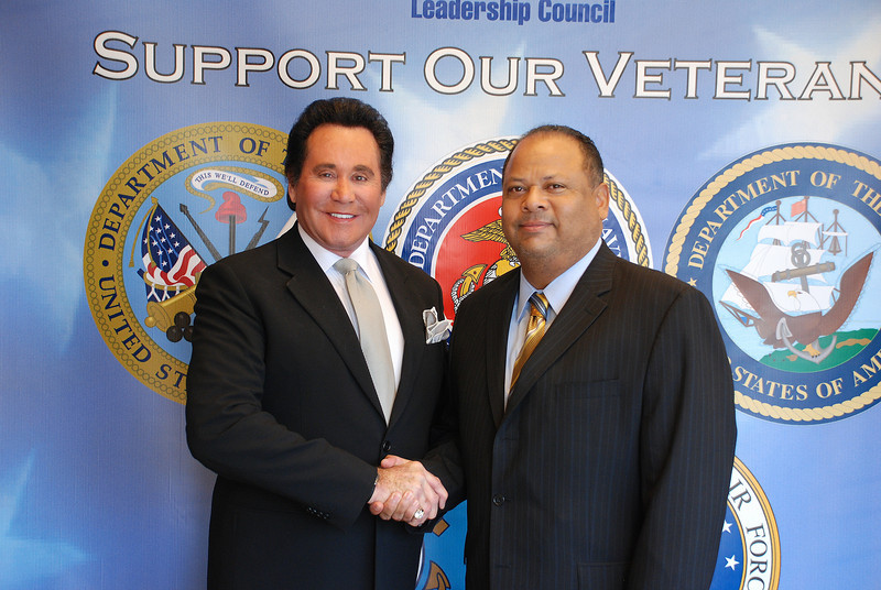 Wayne Newton and Victor Daniels