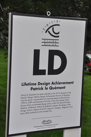 EOD 2015 Lifetime Design Patric le Quement