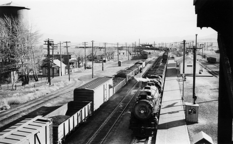 Cache Junction, from coaling station