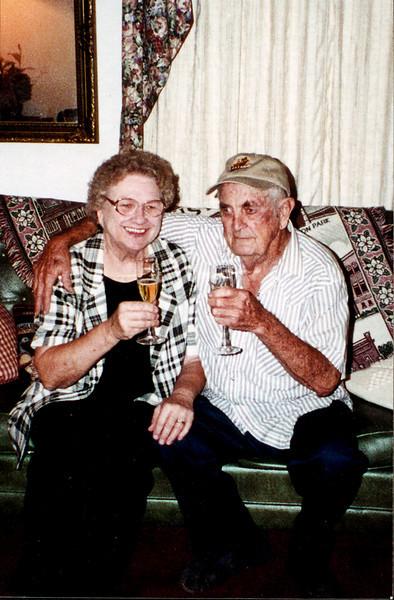Maria and Rip Smock Silver Wedding Anniversary September 9, 2000