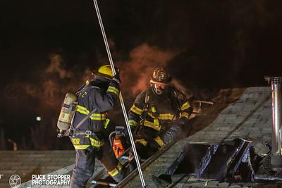 2 Alarm House Fire - 50 Hillside Ln, Parsippany, NJ - 12/27/18