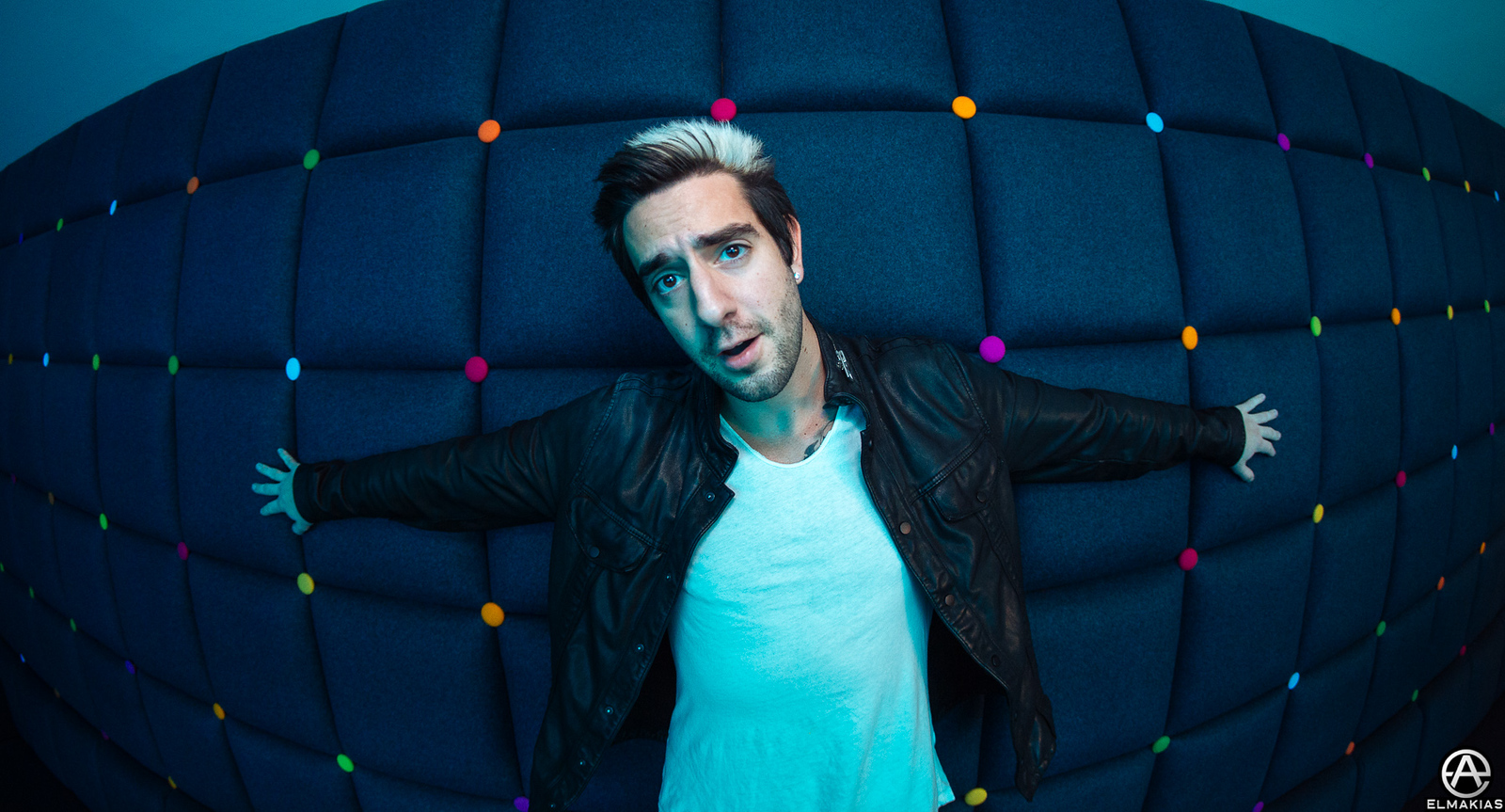 Portrait of Jack Barakat of All Time Low
