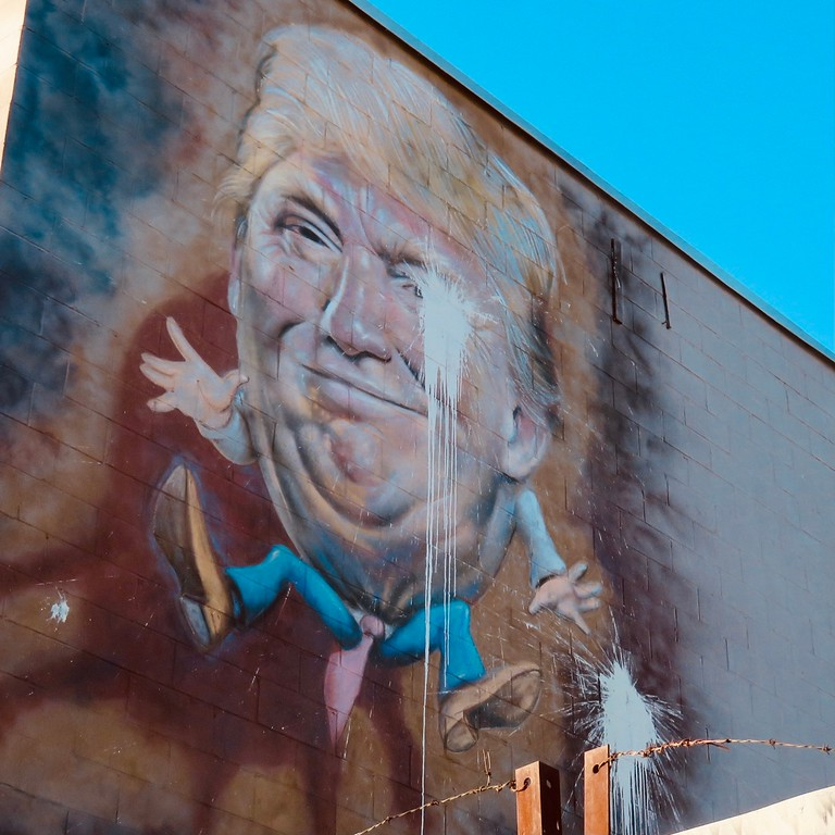 humpty trumpty mural in bushwick brooklyn street art