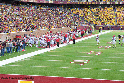 2010-09-11 USD @ Mn. Gophers (41-38) Go 'Yotes!!