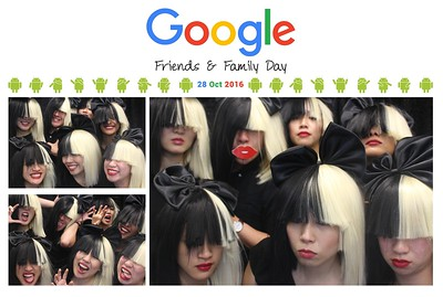 Google Friends & Family Day 28th Oct 2016