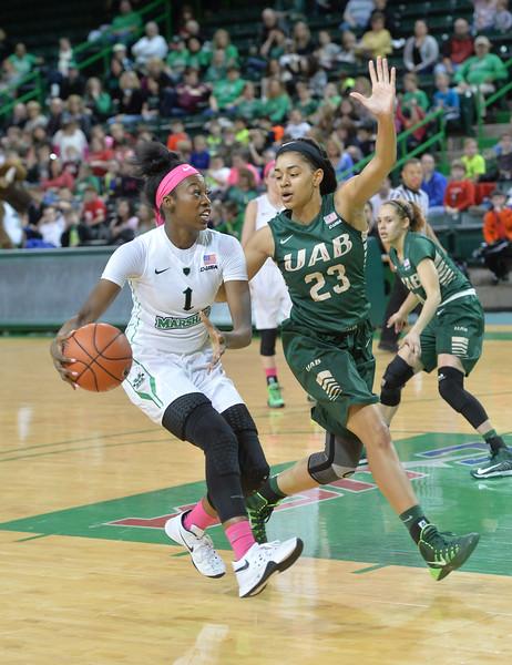 Basketball- Women's v. UAB Feb. 25, 2016- Rick Haye