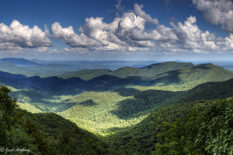 View from Preaching Rock, Lumpkin County, GA