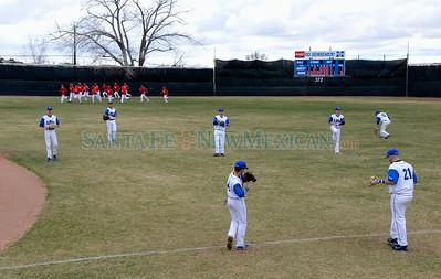 St. Michael's vs Bernalillo baseball March 20, 2015