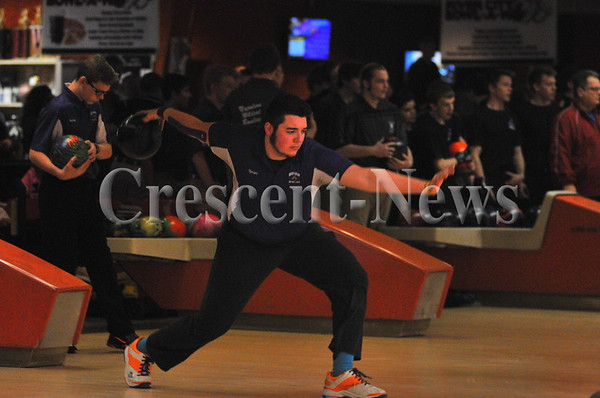 02-18-17 Sports D-II boys sectional bowling @ Napoleon