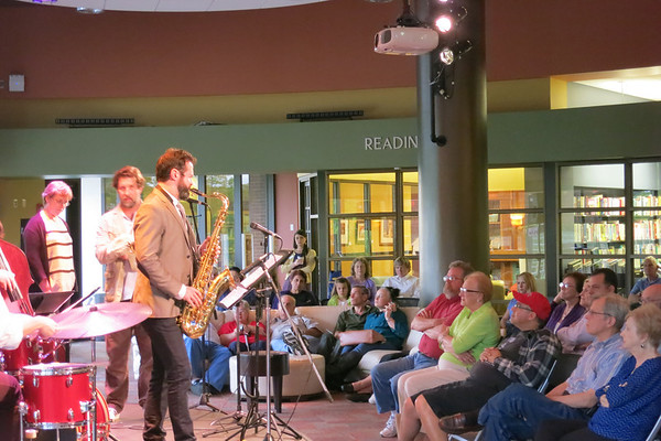 Rob Alley Quintet w/ Jill Chamberliss @ the Plaza-April 24, 2014