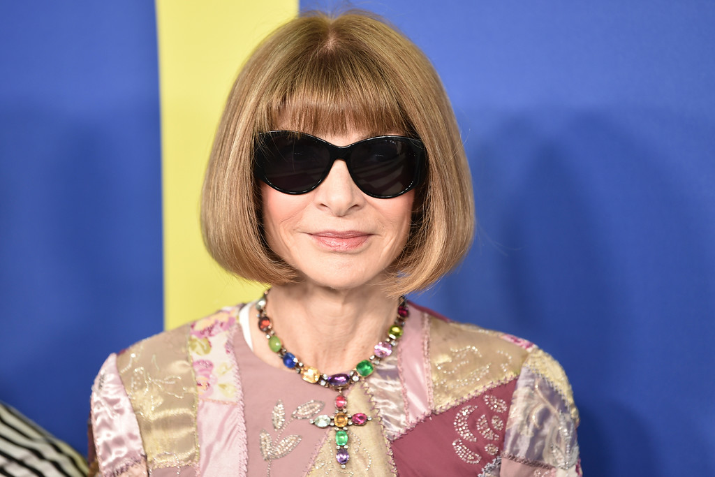 . Anna Wintour arrives at the CFDA Fashion Awards at the Brooklyn Museum on Monday, June 4, 2018, in New York. (Photo by Evan Agostini/Invision/AP)
