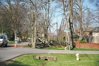 Wind damage in our neighborhood