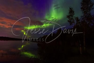 20140828--Aurora, Chena Lake