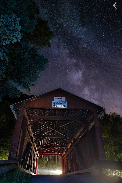 Sam Eckman Covered Bridge