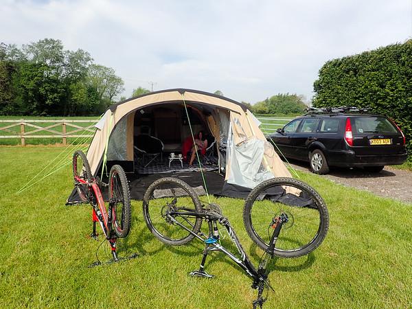 2017-05-27 Camping Thornthorpe near Malton