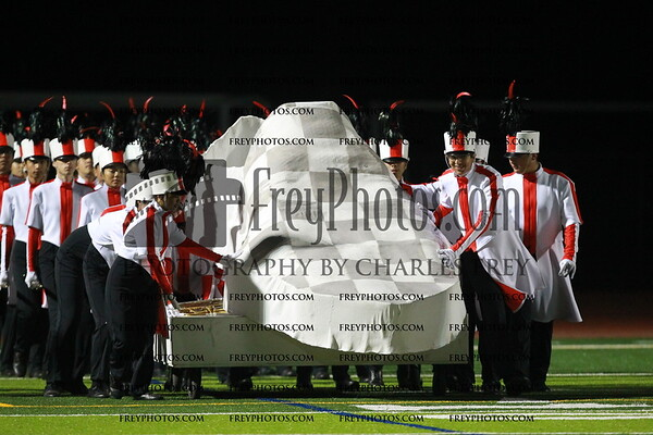 James Logan High School Band and Color Guard
