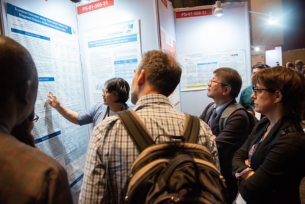 Poster discussion sessions