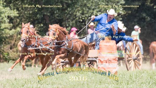 Saturday Buckboards  2016 National Championship Chuckwagon Races