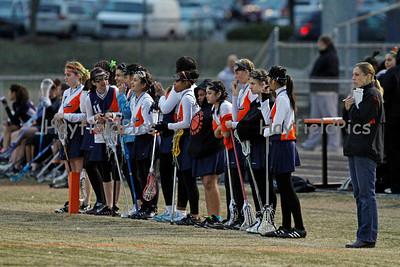 Girls Lacrosse JV West Springfield 3/15/11