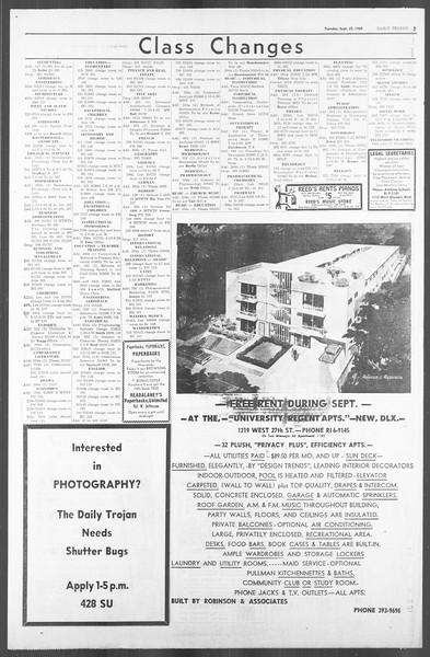 Daily Trojan, Vol. 56, No. 2, September 22, 1964