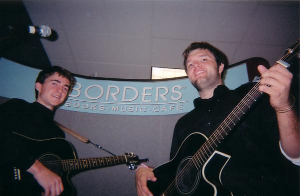 Borders Books Tour, NY 2003