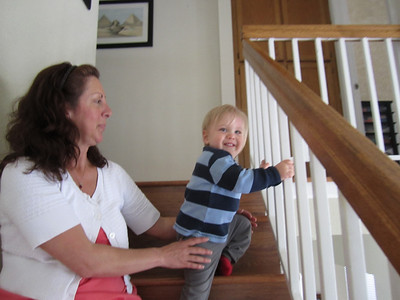 Trent's First Staircase 042211