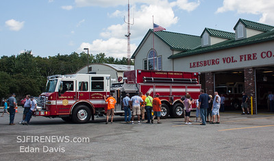 08/26/2017, Leesburg Fire Dept. Cumberland County NJ, Housing of Tender 26-11