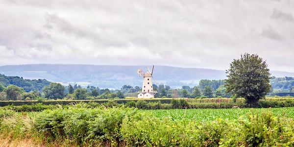 Llancayo Windmill near Usk