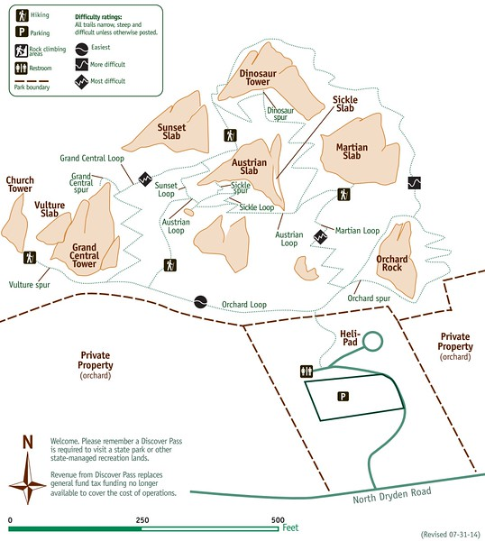 Peshastin Pinnacles State Park
