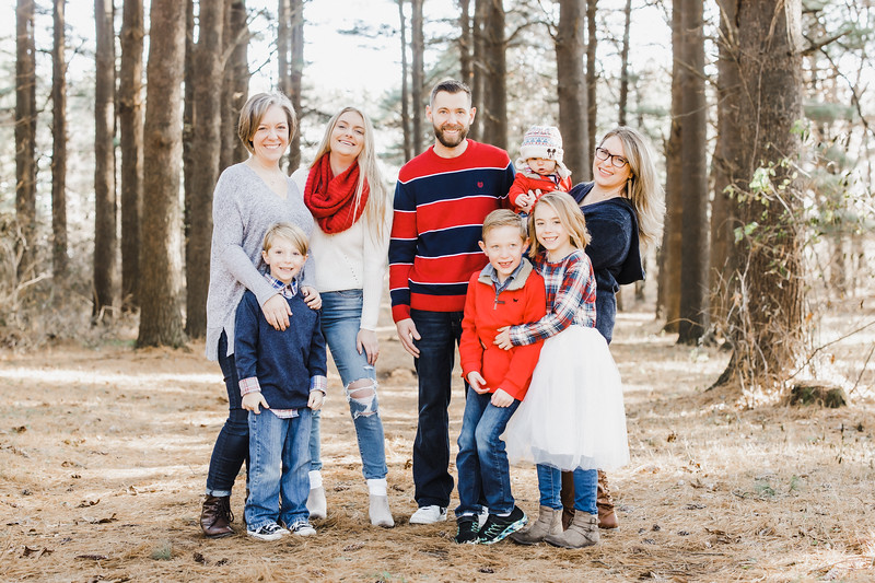Currie Family | Williams Tree Farm Winter Sessions