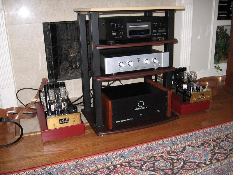 John's Manley Labs parallel 300B's.