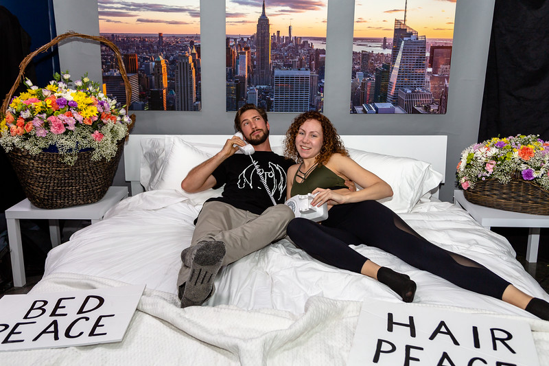 2018_10_17, Adorama, Bed, Bed In, New York, NY, Photo Booth, Steven Meloney