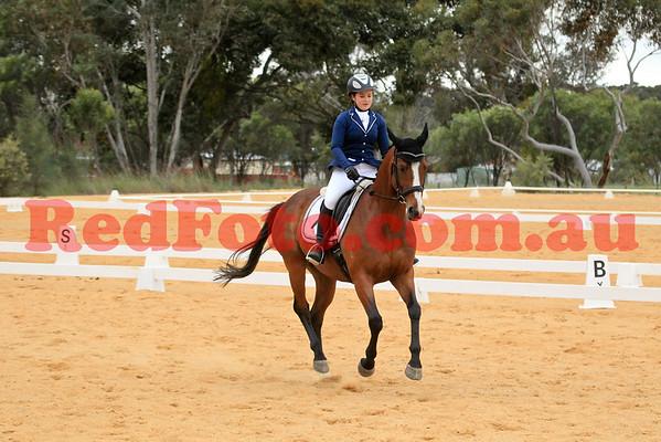 2014 10 18 Swan River Horse Trials Dressage EvA95J